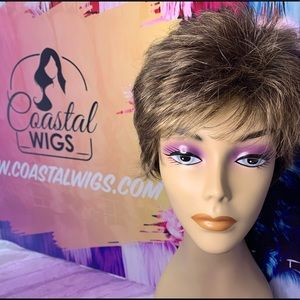 Short and Sassy Synthetic Wig